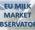 Las entregas de leche y la producción de lácteos en la UE se reduce en los 7 primeros meses del año